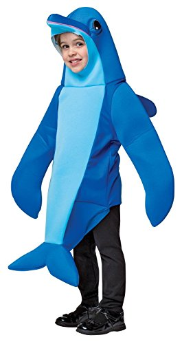 Rasta Imposta Women's Dolphin, Blue, 3-4T (Dolphin Costumes For Kids)