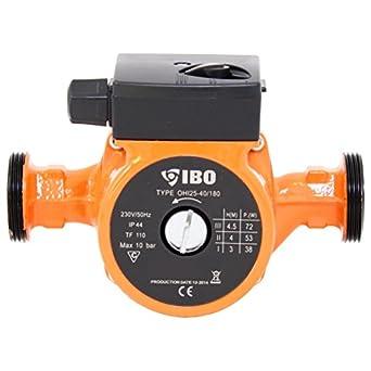 Fabulous Umwälzpumpe Heizungspumpe IBO 25-40/180 Pumpe Warmwasser Heizung MI95