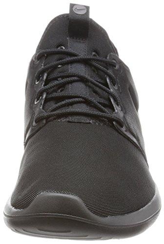 Nike Mens Roshe Två Löparsko Svart / Svart