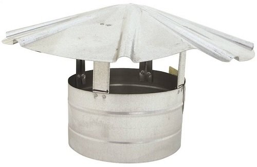 Billy Penn 8105 Galvanized Steel Roof Cap, 8