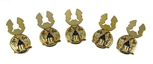 (The Quiet Witness 4031871 Scottish Rite 32nd Degree Button Covers Formal Dress Mason 32 Formal Dress Masonic)