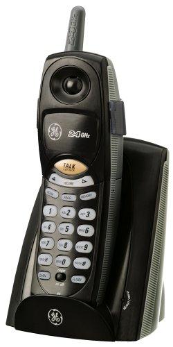 amazon com ge 2 4 ghz cordless phone cordless telephones rh amazon com Cordless Home Phone Systems Analog Cordless