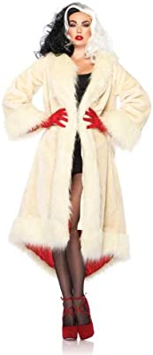 Disney Cruella De Vil Costume Coat