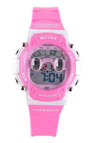 Digital Water Resistant Girls Watch