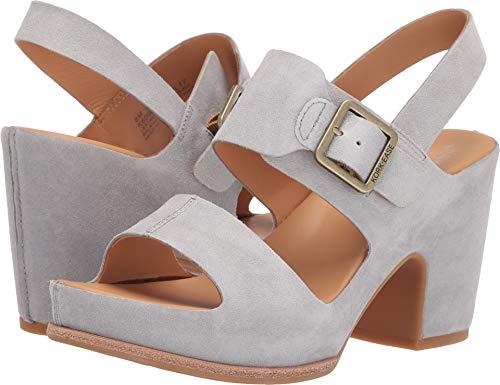 Kork Ease Suede Sandals - Kork-Ease Women's San Carlos Grey Suede 9 M US