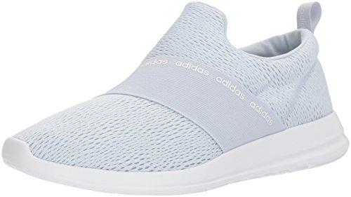 Adidas Kvinna Cf Förfina Anpassa, Aero Blå / Aero Blå / Vit, 5 M Oss Aero Blå / Aero Blå / Vit