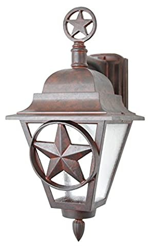 Melissa Lighting Outdoor Wall Mount LS1776 Western from Lone Star Series Collection in (Lone Star Porch Light)