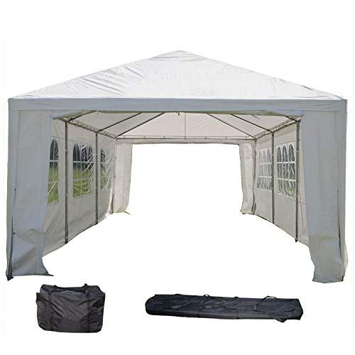 DELTA Canopies WDMT1230-12'x30' Wedding Party Tent with Metal Connectors