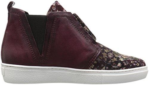 Miz Mooz Womens Laurent Sneaker Aubergine-fluweel