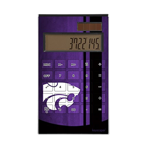 Keyscaper Kansas State University Desktop Calculator NCAA