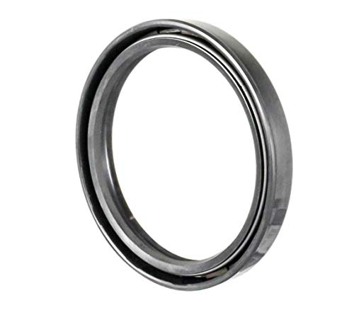 Oil and Grease Seal TC 55X68X8 Rubber Double Lip with Spring 55mmX68mmX8mm. by EAI Parts (Image #1)