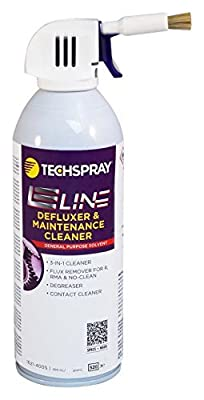 FLUX REMOVER, FLAMMABLE, 400ML 1621-400S By TECHSPRAY by Tech Spray