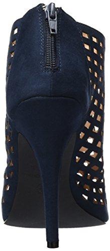 Paper Dolls Rani, Women's Open Toe Sandals Blue (Navy)