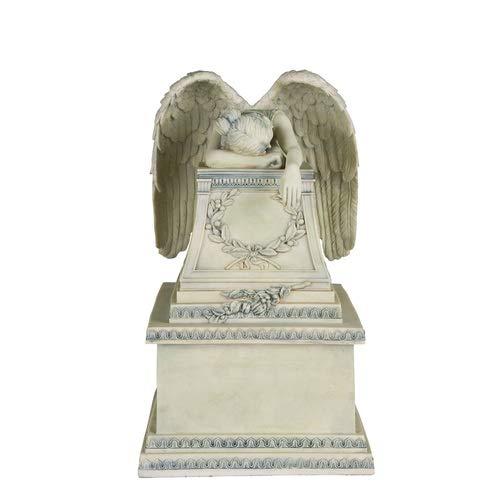 Perfect Memorials Custom Engraved Weeping Angel Cremation Urn Medium