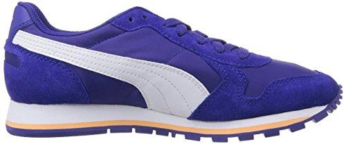 Puma Unisex-volwassenen St Runner Nl Low-top, Grau Blau (clematis Blauw-wit-perzik Cobler 11)