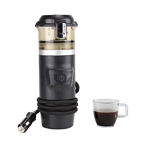 FelizCoche 12V Espresso Machine Car Espresso Coffee Machine, Make Espresso in Car 12V Car Coffee Maker with 2 cups