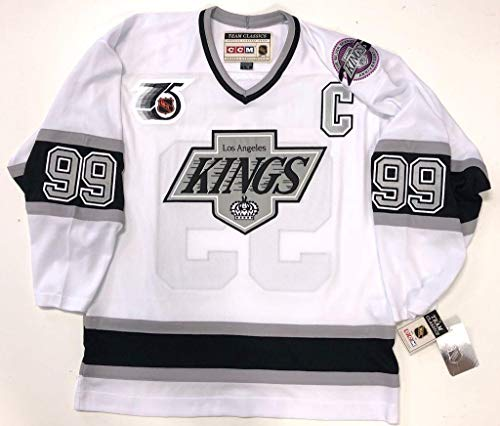 Wayne Gretzky Los Angeles Kings 1991 NHL 75th CCM Team for sale  Delivered anywhere in Canada