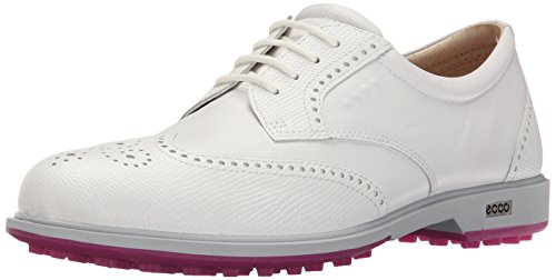 ECCO Women's Classic Hybrid Golf Shoes, Weiß, Weiß (53301WHITE/WHITE), 8 UK