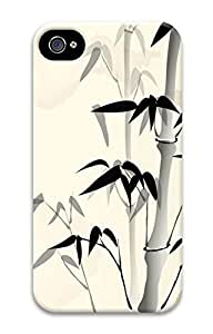 iPhone 4S Case Chinese Style Of Bamboo Pattern Hard Back Skin Case Cover For Apple iPhone 4 4G 4S Cases by Maris's Diary