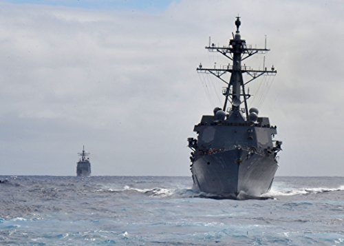 Home Comforts The guided-missile destroyer USS Halsey (DDG 97) operates in the Pacific Ocean during exercise Koa K by Home Comforts