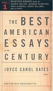 The best american essays of the century joyce carol oates garrison