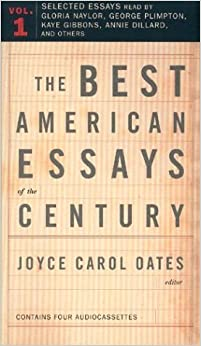 the best american essays of the century amazon The best american essays of the century by unknown author (audio cd 9780618127689.