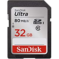 SanDisk 32GB Ultra Class 10 SDHC UHS-I Memory Card Up to...