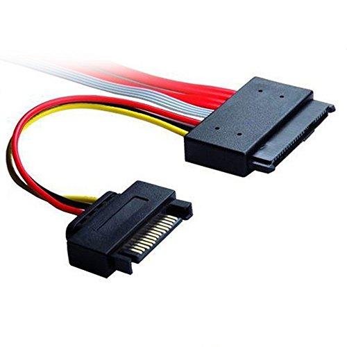 SFF-8639 SATA 3.2 Express 18pin (7+7+4) & 15Pin Power to SFF-8482 SAS Express 29pin Data Raid Cable by HLT (Image #1)