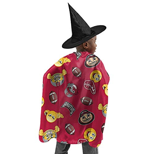 Brutus Halloween Costume (LFCLOSET Brutus Halloween Kids Costume Wizard Witch Cape Hat)