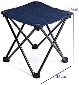 Tabouret pliant portable ultraléger Mazar Chaise de pêche en plein air