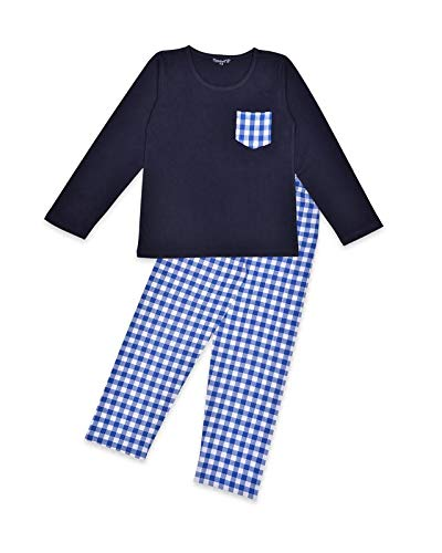Buy Funkrafts Kids Full Sleeves All Day Night Wear Dress T Shirt Bottom Cotton For Boys And Girls Blue At Amazon In