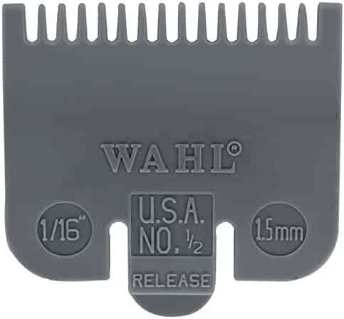 Wahl Professional Color Coded Comb Attachment #3137-101 – Grey #1/2 – 1/16