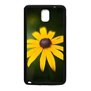 Bright Yellow Flowers Black Phone Case for Iphone 5/5S
