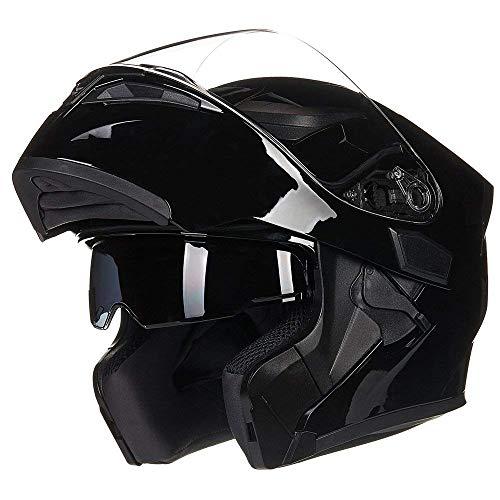 JIEKAI Helm für Motorräder Full-Face Motorcycle Helmet Tragbarer Integralhelme Flip-up Motorradhelm Zertifizierung von…