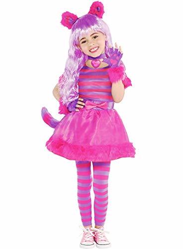 HalloCostume Toddler Girls Cheshire Cat Costume, Halloween Costumes for Girls