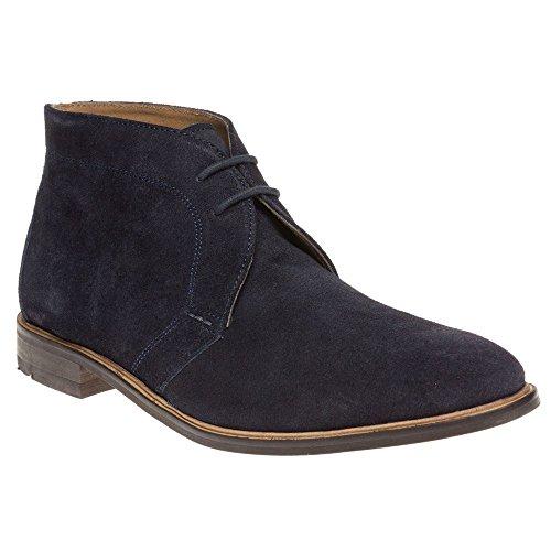 Ben Sherman Karl Chukka Homme Boots Bleu