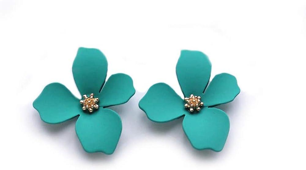 EXINOX Pendientes de Flores | Mujer | Elegantes Pendientes Primavera Verano