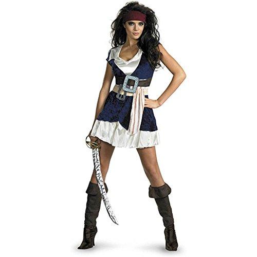 Sassy Jack Sparrow Costumes (Sassy Jack Sparrow Adult Costume - Large)