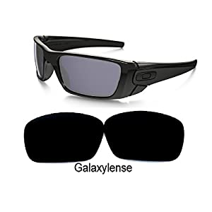 Galaxy Replacement lenses For Oakley Fuel Cell Polarized Black 100% UVAB