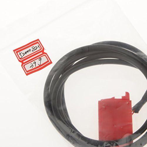 AUXアダプタケーブル オーディオケーブル 10ピン to 3.5mm 約150cm ブラウプンクト iPod iPhone 用