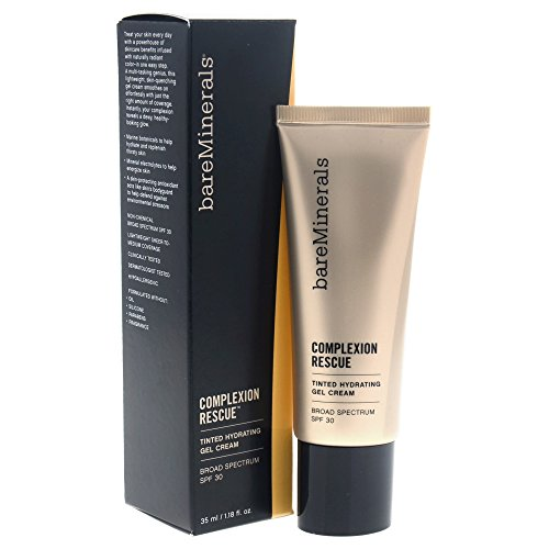 - bareMinerals Complexion Rescue Tinted Hydrating Gel Cream SPF 30, Buttercream 03, 1.18 Ounce