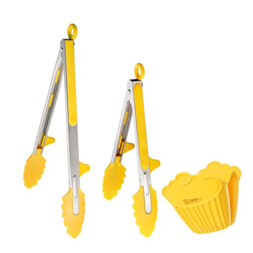 yellow pots and pans set - 9
