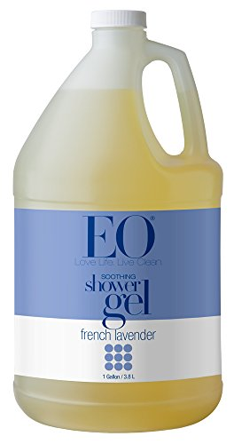 Body Wash Refill (EO Soothing Botanical Shower Gel Refill, French Lavender, 128 Ounce)