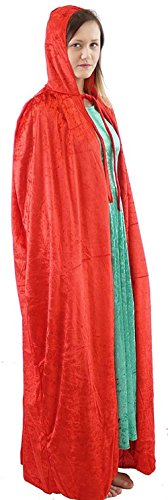 Wicked Costumes Musical (Halloween-Gothic-Fancy Dress-Wicked Witch BUDGET CLOAK 55