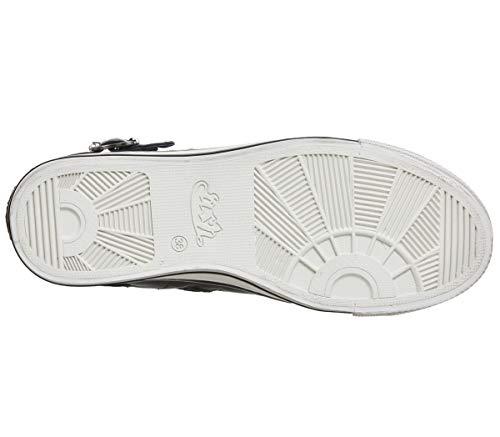 Gun Shoe Antic Ash Graphite Trainer Grey Virgin Mordore Buckle Shine pn7xS0C