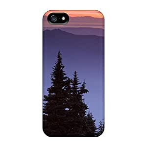 Premium Protection Beautiful Scenery Case Cover For Iphone 5/5s- Retail Packaging