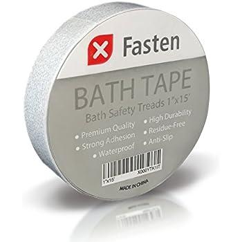 XFasten Anti Slip Tape Bathtub and Shower Treads, 1-Inch by 15-Foot