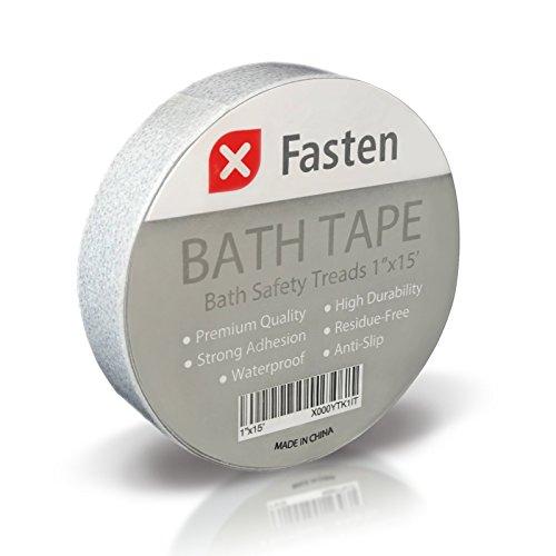 XFasten Anti Slip Tape Bathtub and Shower Treads, 1-Inch ...