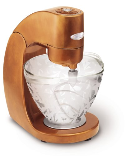 UPC 719881130859, Jenn-Air Attrezzi JSM900EAAU Antique Copper Stand Mixer, with Clear-Etched Pattern Bowl and Attachments