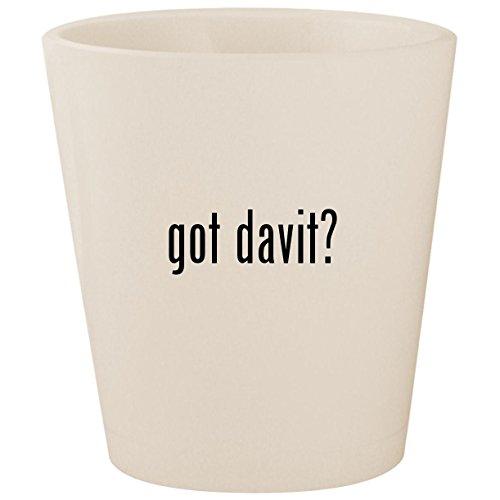 got davit? - White Ceramic 1.5oz Shot Glass